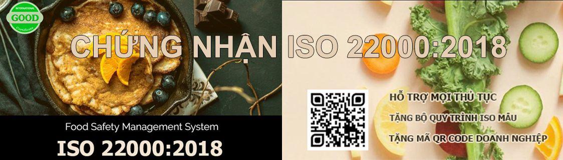 Chứng nhận ISO 22000 : 2018